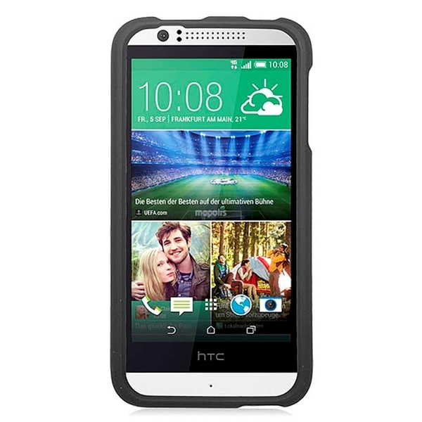 HTC Desire 510 Black Rubber Cover