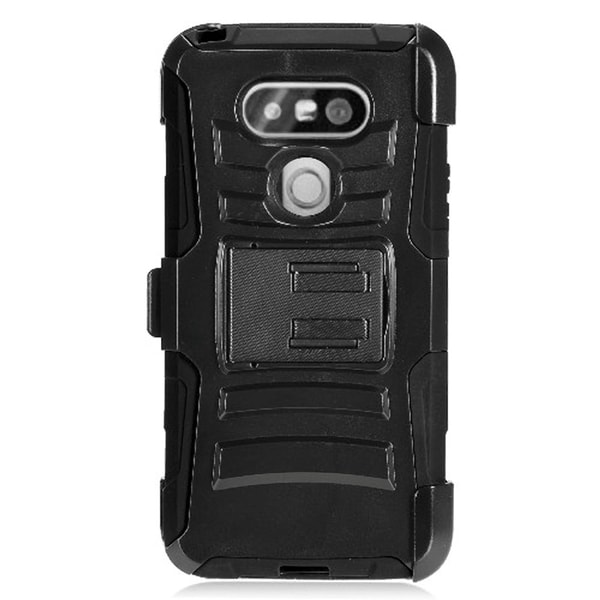 LG G5 PR Black Protective Case with Holster