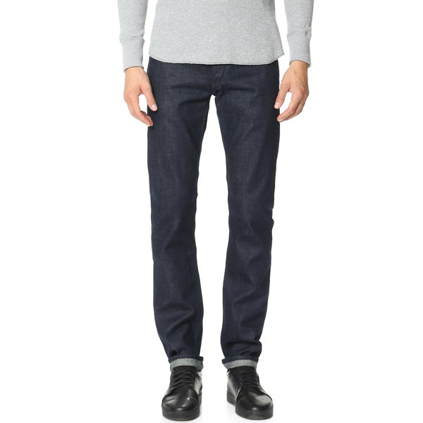 Rag & Bone Men's Tonal Selvedge Straight-leg Jeans