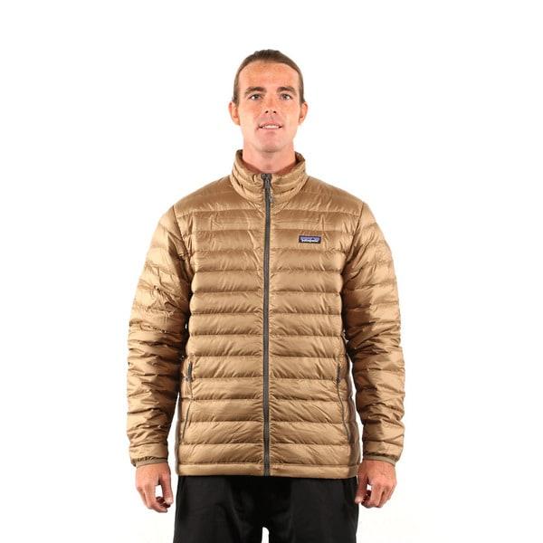 Patagonia Men's Ash Tan Down Sweater Jacket