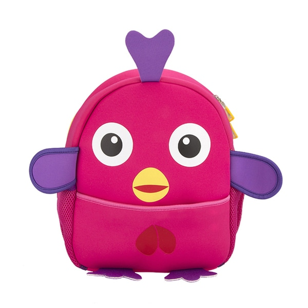 Little Kids Red Rose Chick Cartoon Backpack