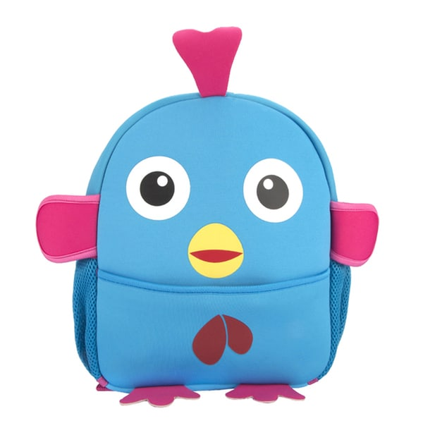 Little Kids Sky Blue Chick Cartoon Blue EVA Backpack
