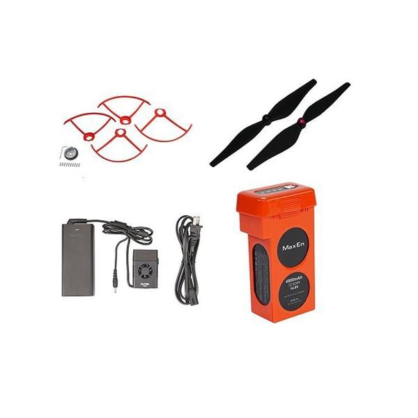 Autel Robotics Orange Accessory Kit (Propeller Guards, Propellers, Battery, & Charger)
