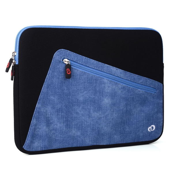KroO 13.3-Inch Blue Neoprene Hybird Tablet and Laptop Sleeve