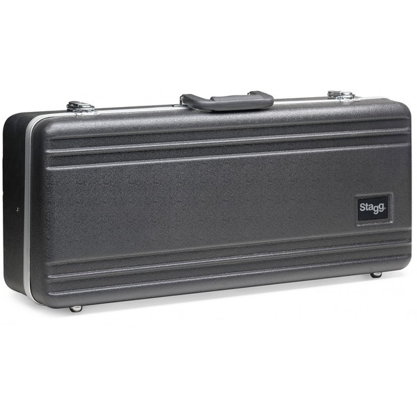 Stagg Black ABS Hard Case for Alto Saxophone