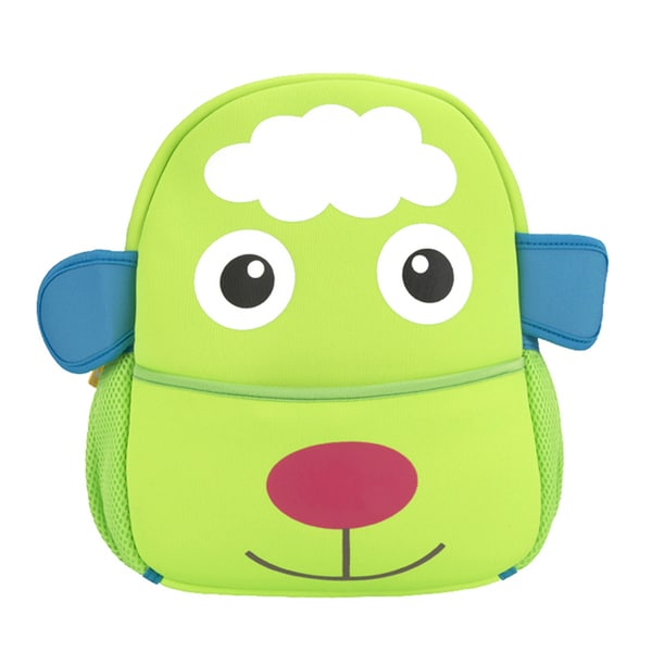 Kids' Green Eva Lamb Cartoon Design Backpack