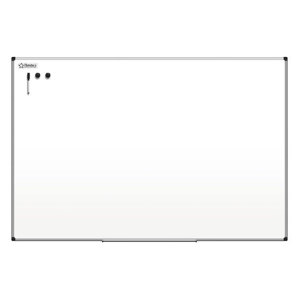 Thornton's Office Supplies Aluminum Frame 36-inch x 48-inch Dry Erase Whiteboard