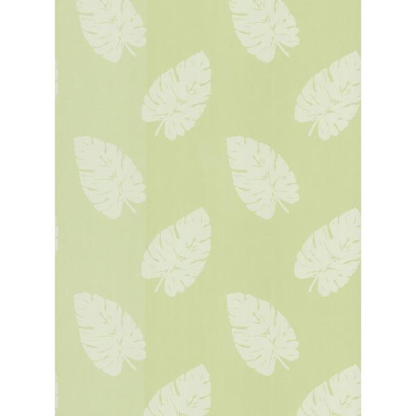 Brewster Green Palm Wallpaper