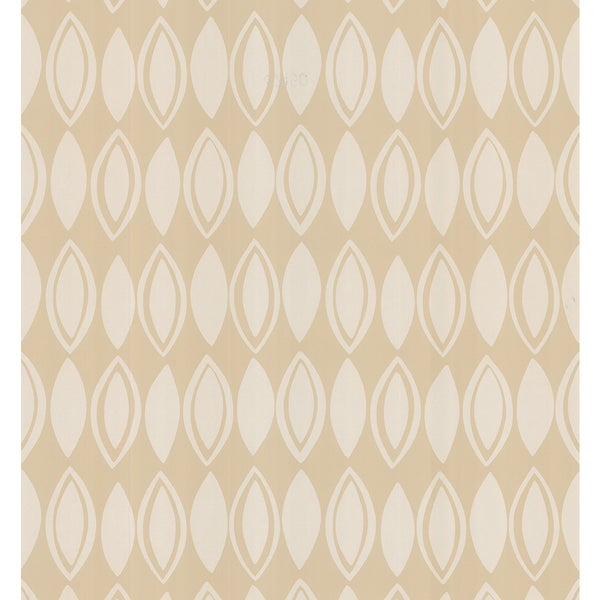 Brewster Neutral Beige Geometric Wallpaper