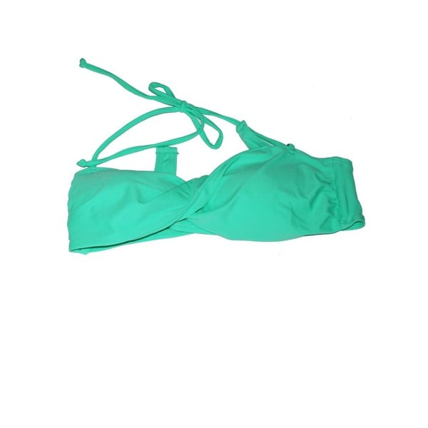 The Twist Mint Green Bandeau Top