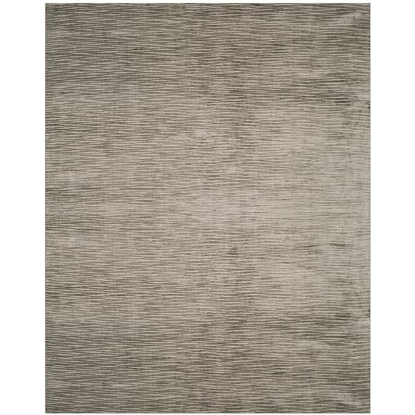 Safavieh Handmade Mirage Modern Sabre Grey Wool Rug (6' x 9')