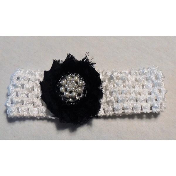 Fashion Pearl Cluster Headband