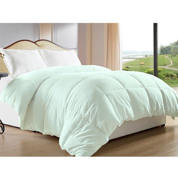 Luxlen 350 Thread Count Cotton Down Alternative Comforter