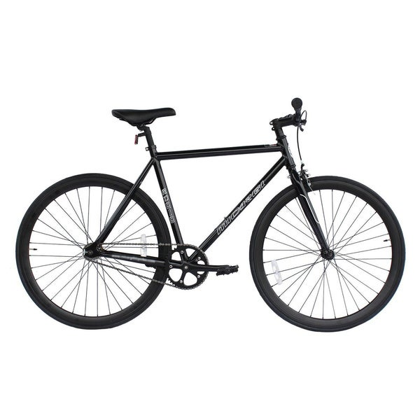 Micargi Black Metal Unisex Road Bike