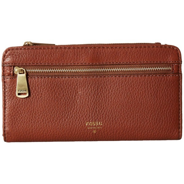Fossil Preston Brown Leather Wallet