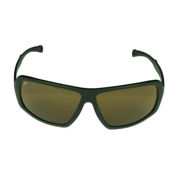 Serengeti Alassio Black Satin Frame w/ Polarized Drivers Lens Sunglasses