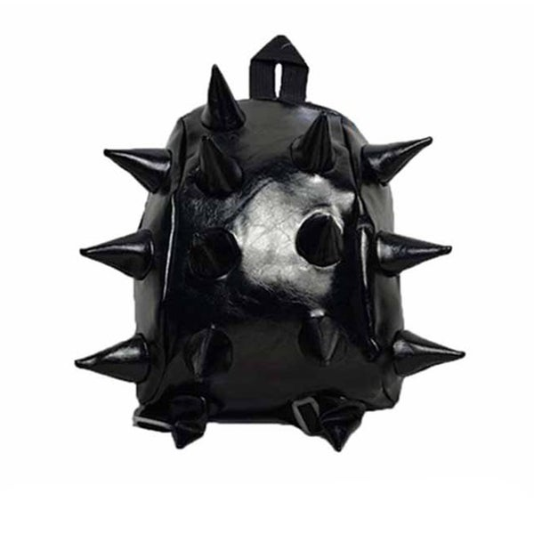 Toddler Black 3D Spike Backpack