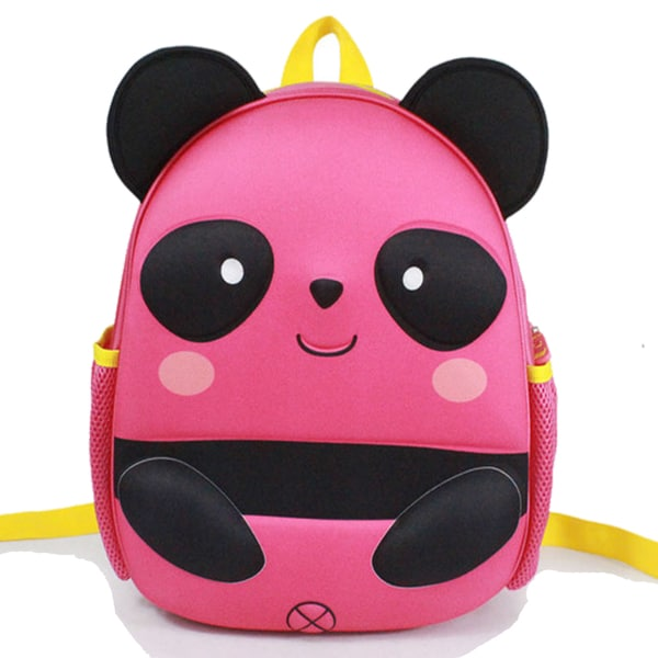 Toddler Panda Cartoon Pink EVA Backpack