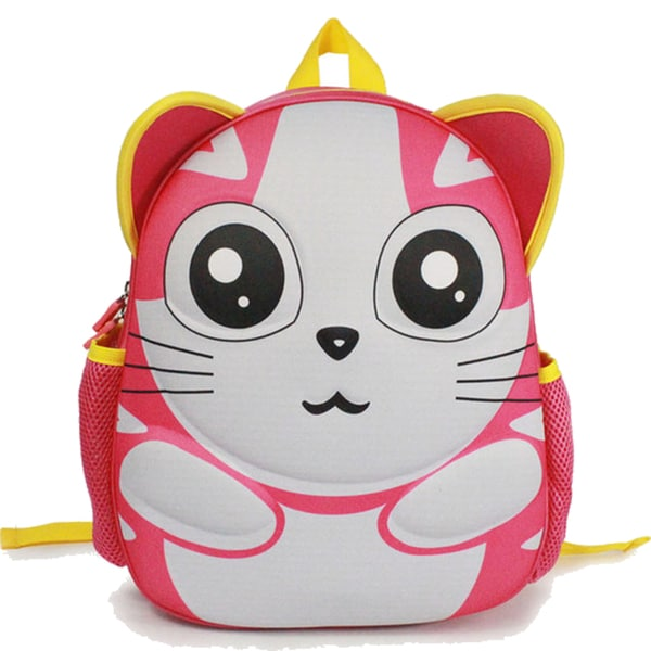 Toddlers' Pink Kitten Cartoon EVA Backpack