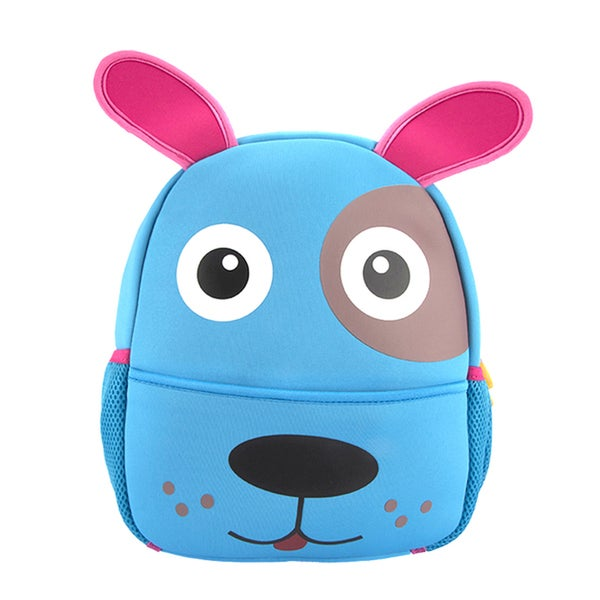 Little Kids Blue Puppy Cartoon Backpack