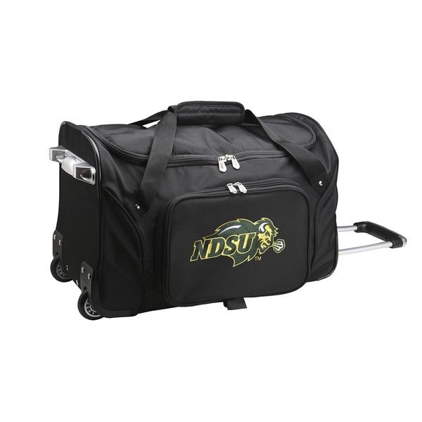 Denco North Dakota State 22-inch Carry On Rolling Duffel Bag