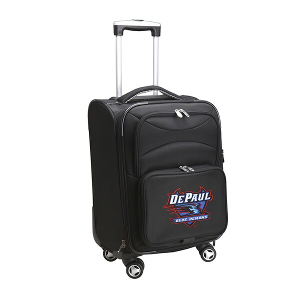 Denco Sports DePaul Blue Demons 20-inch Carry-on 8-wheel Spinner Suitcase