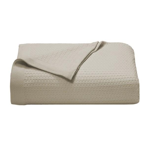 Nautica Baird Cotton Khaki Blanket