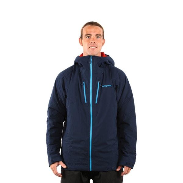 Patagonia Men's Navy Blue Stretch Nano Storm Jacket