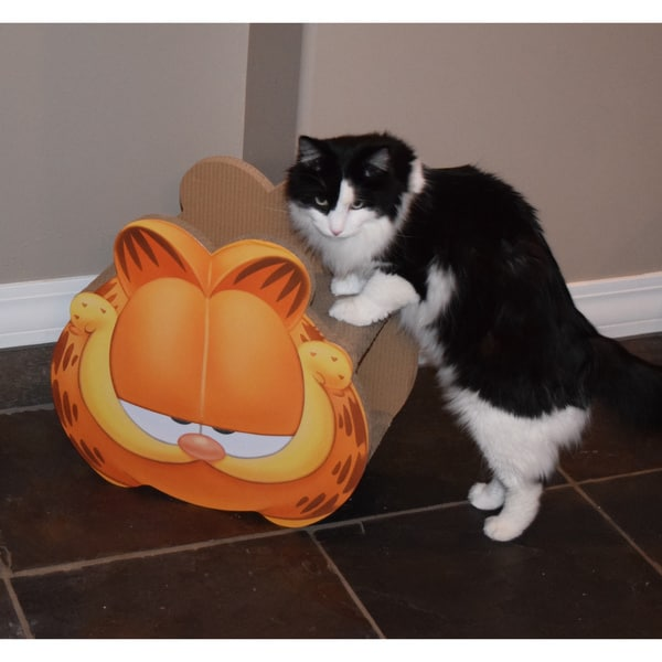 Garfield Head Cardboard Cat Scratcher