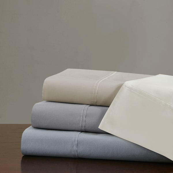 Madison Park Signature 750TC Luxury Pima Cotton Sateen Sheet Set