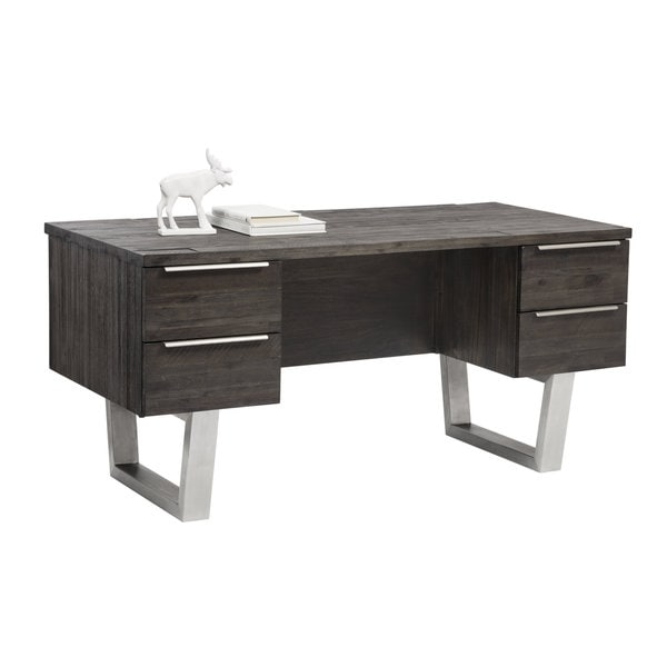 RHODES DESK - AUTUMN BROWN