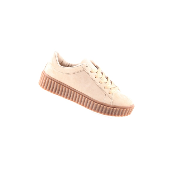 Hadari Womens Casual Fashion Suede Sneaker Shoes