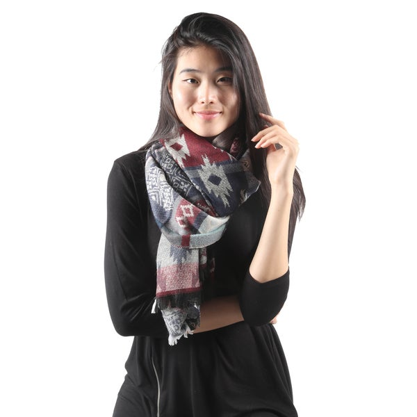 Shelby Multi-Print Scarf