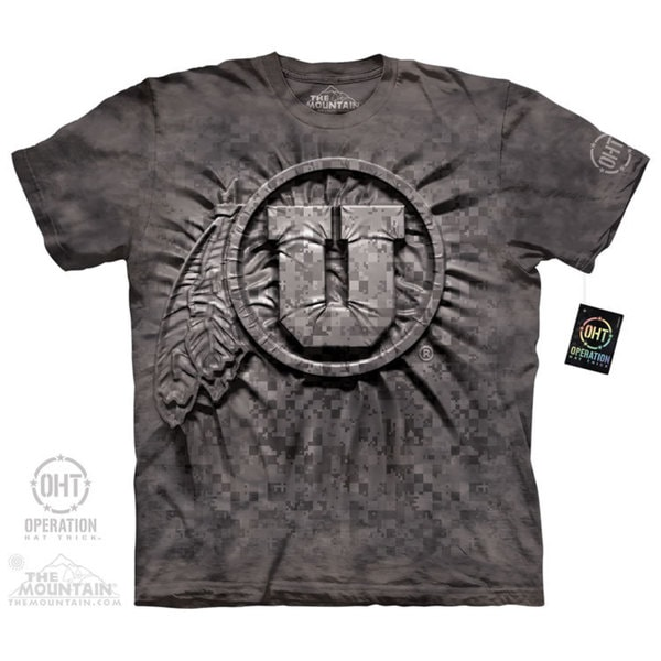 Men's The Mountain Camo Warrior Inner Spirit T-shirt