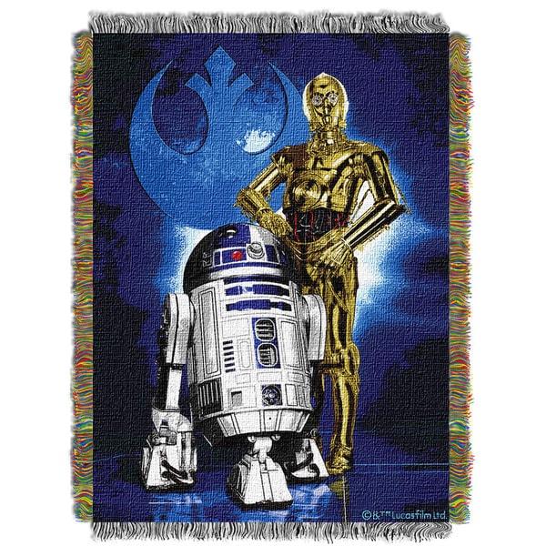Star Wars Droid Blues Throw