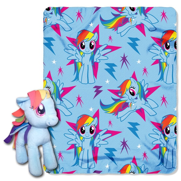 ENT 038 My Little Pony Rainbow Dash Throw