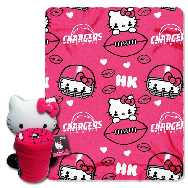 COK 027 Chargers Hello Kitty with Throw 22025170