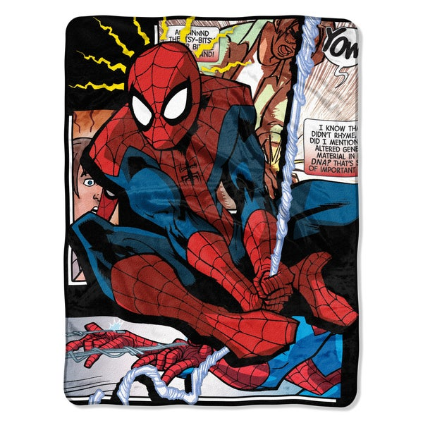 ENT 059 Spiderman Spider Origins Blanket 22025321