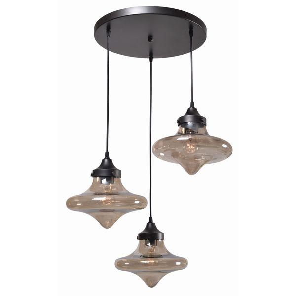 Roswell 3 Light Pendant