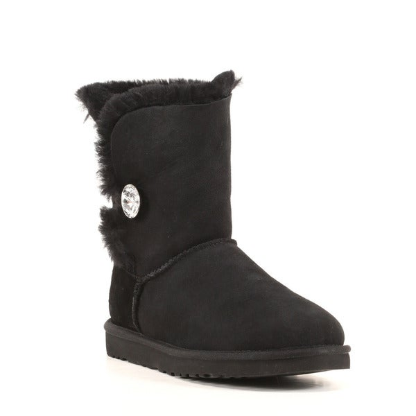 UGG Australia Women's Classic Bailey Button Bling Boots