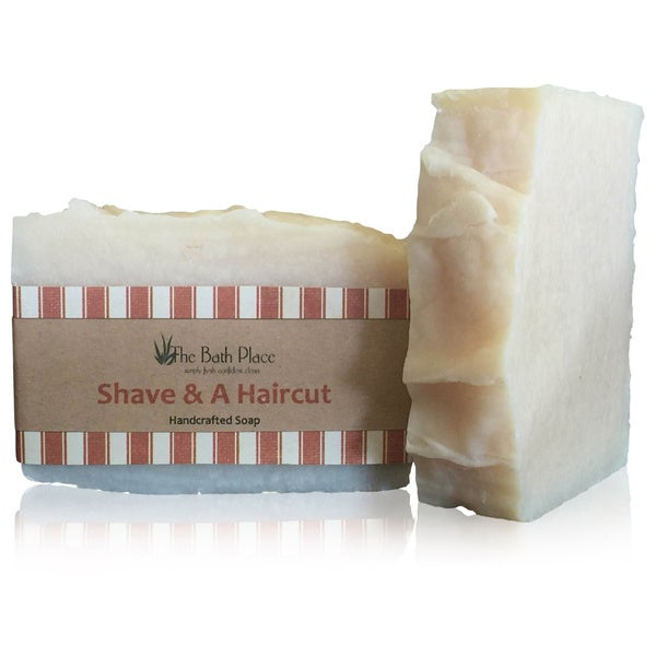 Shave and A Haircut Handcrafted Soap Duo