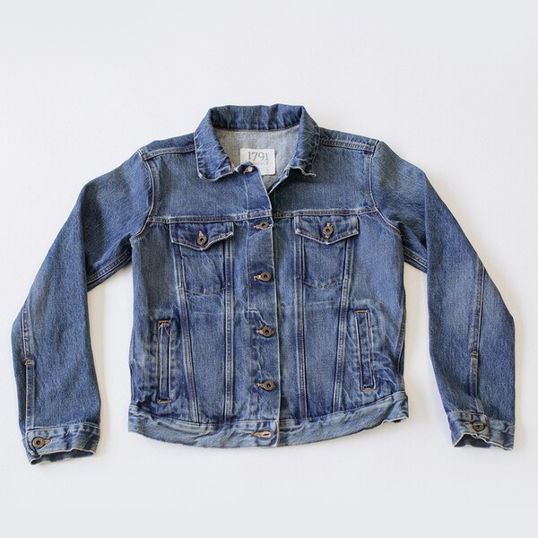 1791 Supply & Co Women's Vintage Wash Jean Jacket