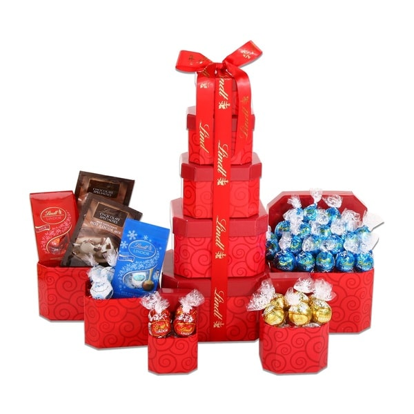 Alder Creek Gift Baskets Lindt Red Tower