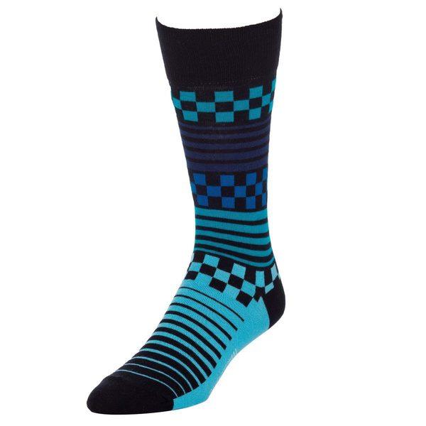 STROLLEGANT Speedway Men's 1 Pair Size 10-13 Crew Socks