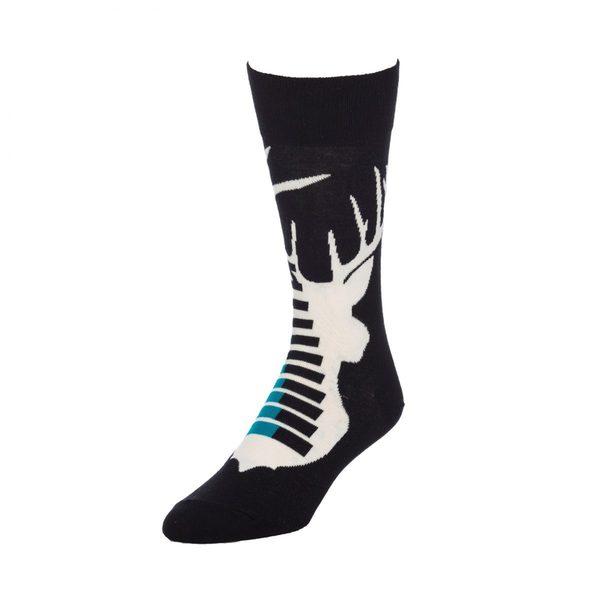 STROLLEGANT Stag Men's 1 Pair Size 10-13 Crew Socks