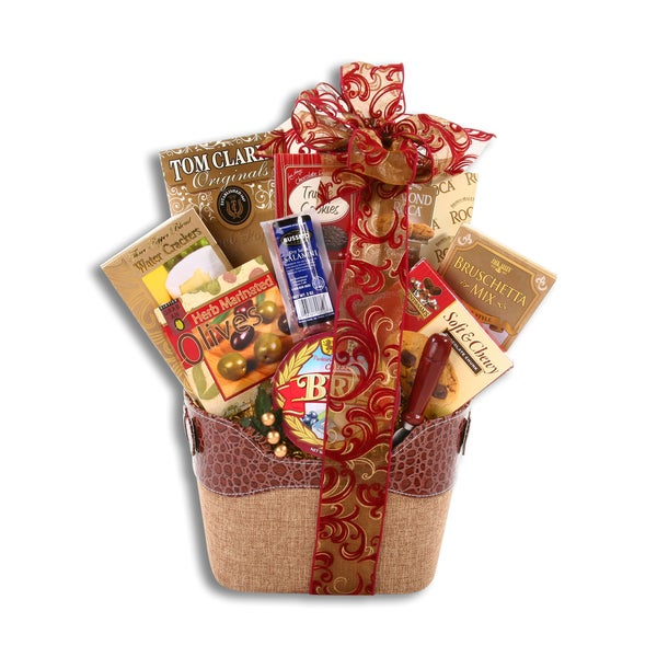 Alder Creek Gift Baskets The Connoisseur Gift Basket