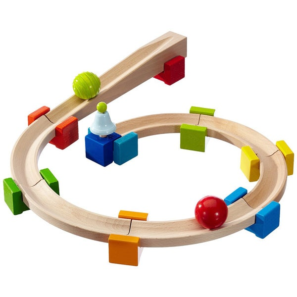 HABA My First Ball Track Basic Pack Wooden Toy Set