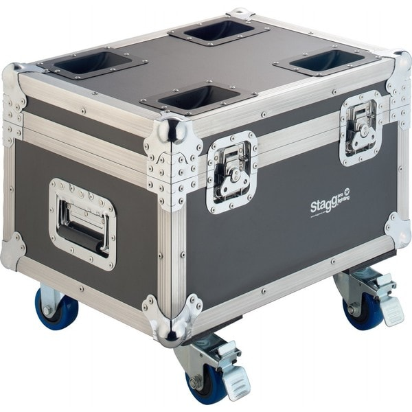 Stagg SLI FC-CYC60 Black Wooden Flight Case with Wheels