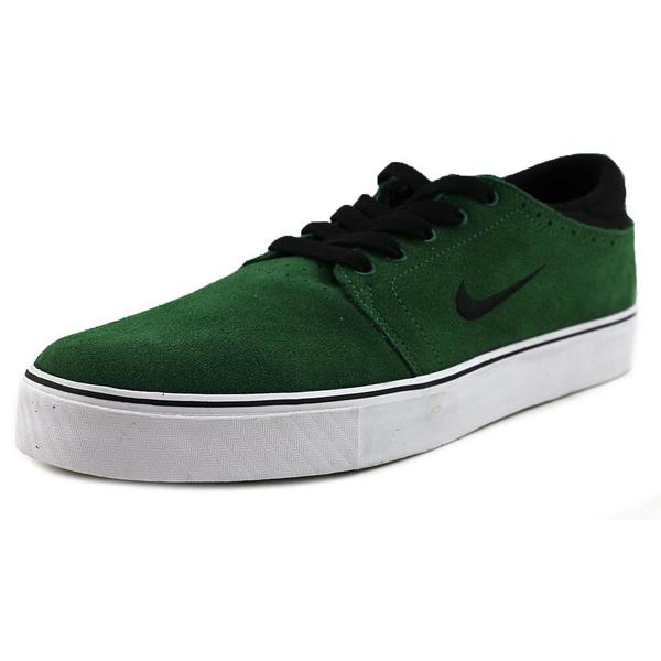 Nike Men's 'Zoom Team Edition Sb' Green Basic Textile Athletic Shoes
