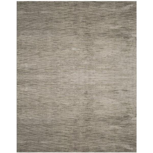 Safavieh Handmade Mirage Modern Sabre Grey Wool Rug (9' x 12')